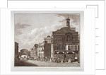Fleet Street from St Dunstan in the West to Temple Bar, City of London by John Hickin