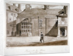 View of the hall, Furnival's Inn, City of London by CN