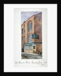 View of the Brown Bear Tavern, Gravel Lane, Houndsditch, City of London by