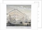 Messrs J&R Morley's warehouses, corner of Milk Street and Gresham Street, London by Martin & Hood