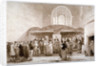 Interior view of Guildhall Chapel, City of London by George Jones