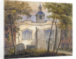 West view of the Church of St Helen, Bishopsgate, City of London by William Pearson