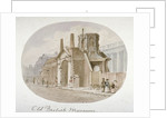 View of the old British Museum, Bloomsbury, London by James Findlay