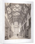 Interior view of the library, Lincoln's Inn, Holborn, London by Day & Haghe