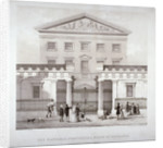 The National Provincial Bank at no 112 Bishopsgate Street, City of London by Anonymous