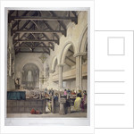 Interior view of St Leonard's Church, Bromley-by-Bow, London by