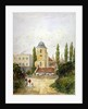 St Pancras Old Church and the Adam and Eve Tavern, London by EH Dixon