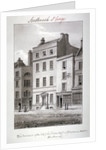 House in Blackman Street, Southwark, London by John Chessell Buckler