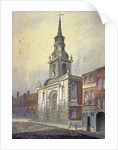 St George's Church, Borough High Street, Southwark, London by William Pearson