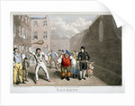 Playing rackets, Fleet Prison, London by Theodore Lane