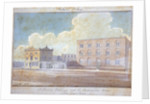 St Saviour's workhouse and the Rockingham Arms Inn, New Kent Road, Southwark, London by G Yates