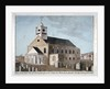 South-west view of the Church of St Mary Newington, Newington Butts, Southwark, London by Anonymous