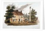 The Dun Cow Inn, Kensington, London by William Pickett