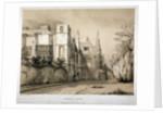 South-east view of Campden House, Kensington, London by A Ducotes