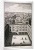 A bird's-eye view of St Thomas's Hospital in Southwark, London by Toms