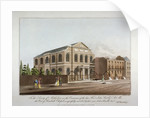 The Methodist chapel in Lambeth, London by C Rosenberg