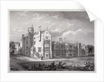 View of Lambeth Palace, London by GF Bragg