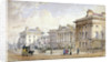 View of Clarence Terrace in Regent's Park, London by