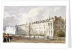 View of Hanover Terrace in Regent's Park, London by George Shepherd