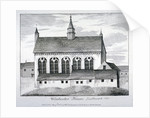 The Bishop of Winchester's palace, Winchester House, Southwark, London by Anonymous