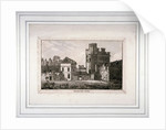 The tower at the Bishop of Winchester's palace, Southwark, London by