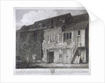 South view of the Bishop of Winchester's palace, Southwark, London by