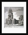 South-west view of the Church of St Anne, Limehouse, London by Anonymous