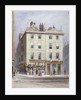 Clement's Stores at the junction of Holywell Street and Wych Street, Westminster, London by Thomas Hosmer Shepherd