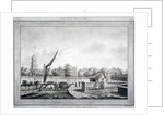 View of Fulham from the White Lion Inn, Putney, London by Robert Laurie