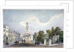 St Mary's Church and Croom's Hill, Greenwich, London by Anonymous