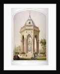 The drinking fountain in Victoria Park, Hackney, London by Robert Dudley
