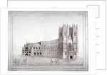 Westminster Abbey from the north-west, London by Anonymous