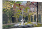 View of the Little Cloister in Westminster Abbey, London by Thomas Cafe