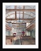 Interior view of St Pancras Old Church, London by HC