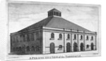 Perspective view of Whitefield's Tabernacle, Moorfields, London by J Lodge