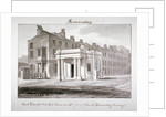 East view of the new toll house near St James' Church, Bermondsey, London by John Chessell Buckler