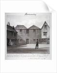 The Reverend Whitaker's meeting house, Long Walk, Bermondsey, London by John Chessell Buckler
