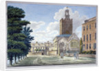 View of All Saints Church, Chelsea, London by Anonymous