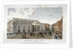 The new Covent Garden Theatre, Bow Street, Westminster, London by Anonymous