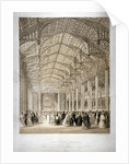 Interior of the Covent Garden Theartre, Bow Street, Westminster, London by