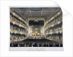 Interior view of Covent Garden Theatre, Bow Street, Westminster, London by J Bluck