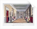 Room off the private boxes, Covent Garden Theatre, Bow Street, Westminster, London by Anonymous
