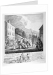 The painters march from Finchly... by Paul Sandby