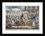 Middlesex-election, 1804. A long pull, a strong pull and a pull all together by James Gillray