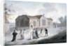 A procession of schoolchildren entering Broadway Chapel, Westminster, London by Daniel Orme
