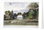 Old Park, Clapham, London by Frederick Mackenzie