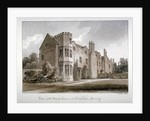 View of the Manor House at Clapham, Surrey by John Chessell Buckler