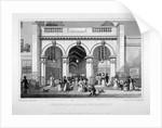 Burlington Arcade, Westminster, London by William Tombleson