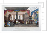 Interior of the premises of Morgan and Sanders, Catherine Street, Westminster, London by Anonymous