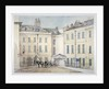 View of Downing Street, Westminster, London by